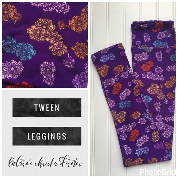 LuLaRoe Other - NEW Lularoe Tween Leggings